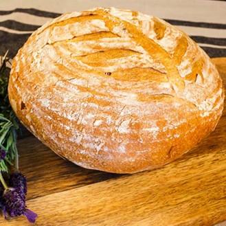 Pâine artizanală albă
